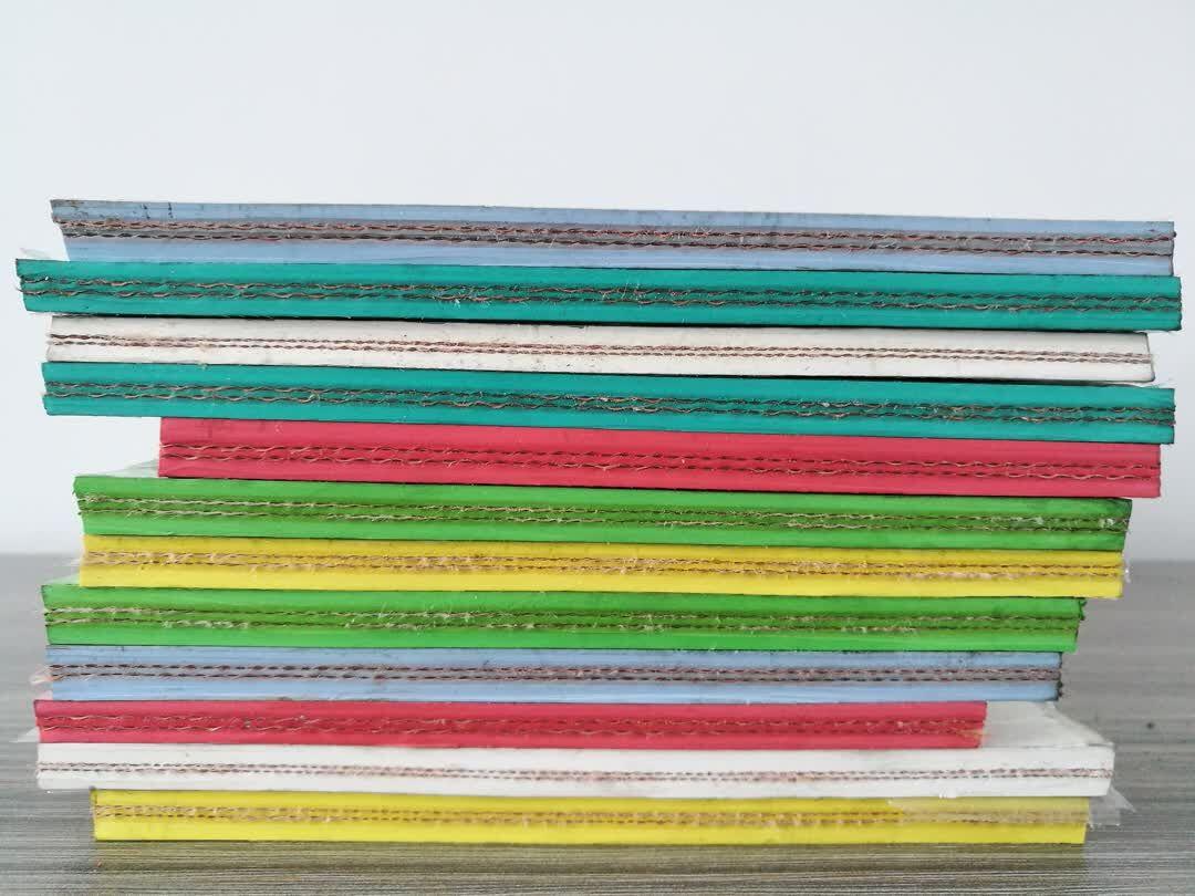 Muestras de cinta transportadora FDA 02